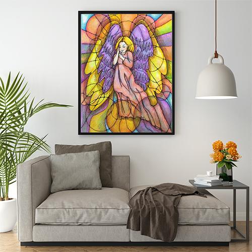 Ангел-хранитель в интерьере